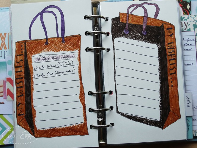 Photo - Planner Wishlist